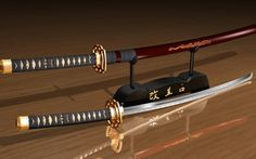 Japanese samurai swords (Katana's)