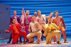 Mamma Mia! at the Novello Theatre. New cast 2014-2015. Photo: Brinkhoff/Mögenburg