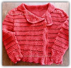 Jaqueta em croch�