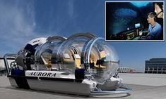 Million dollar submarine can take you a mile under the sea | Daily Mail Online