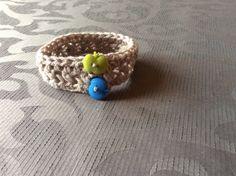 Cross over stitch bracelet