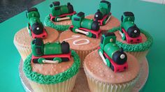 Steam Train Cupcakes | Flickr - Photo Sharing!