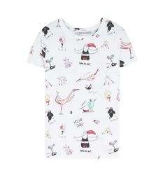 Camiseta de Bershka (9,99 €).