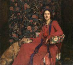 AHilda and Maggie, George Spencer Watson