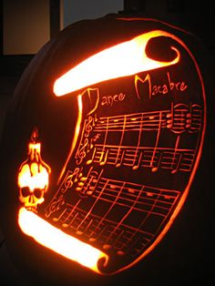 musical jack-o-lantern