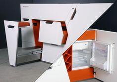 Boxetti compact kitchen