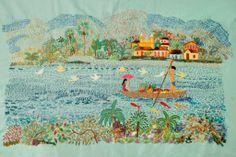 [Bordado da Família Dumont - Série Rio]  #embroidered