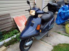 1987 200cc Yamaha Riva Scooter - http://www.gezn.com/1987-200cc-yamaha-riva-scooter.html