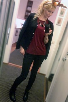 My style. Loving the Chloe cardigan.