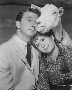 Leslie Nielsen & Debbie Reynolds and Nan in Tammy and the Bachelor