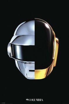 Daft Punk Helmets (24x36) - MUS89891