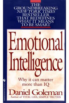 Emotional Intelligence - Decmeber - This one may move up in the calendar