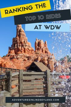 Today I'm ranking my top 10 favorite rides at Walt Disney World. Check out my list and let me know if you agree! #WDW #WaltDisneyWorld #DisneyRides #TopRides Disney World Parks, Walt Disney World Vacations, Disney Travel, Disney World Resorts, Disneyland Dining, Disneyland Park, Disney Vacation Planning, Disney World Planning, Epcot Rides