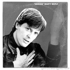 Back to the Future (Marty McFly) / David Bowie Heroes Vinyl Mash Up Album Parody Art Print by Whthelongplayface #mashup #photoshop #parody #album #cover #lp #record #vinyl #scifi #nerd #music #movie #geek #funny #movies #film #movie #films #mashupart #onesheet #cinema #albumcover #album #cover #lp #record #vinyl #1989 #backtothefuture #martymcfly #80smovies #80s #1985 #whythelongplayface #davidbowie #heroes #bowie