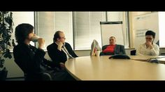 Capgemini polish recruitment video. Even though a bit artificial, it's natural to see that kind of job with an eye blink.