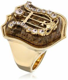 Vivienne Westwood Calista Brown Ring