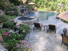 Infinity Edge Pool- Saddle River, NJ. | Cipriano Landscape Design ...