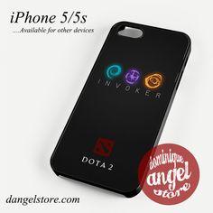 Dota 2 Invoker Phone case for iPhone 4/4s/5/5c/5s/6/6 plus
