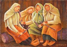 Filipina painting by Magsaysay Ho Artists Like, Various Artists, Filipino Art, Outdoor Garden Bench, Philippine Art, Filipiniana, Global Art, Almost Always, Philippines