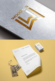 Logo empresa de ventanas. Logo windows. Imagen Corporativa Notebook, Branding, Studio Apartment Design, Design Web, Windows, Messages, Brand Management, Identity Branding, The Notebook
