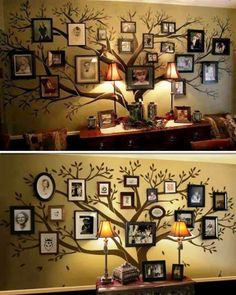 Here's two more family tree ideas.
