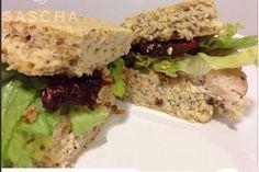 Pan casero bajo en carbohidratos, por Sascha Fitness | Informe21.com #Food #Comida #Receta