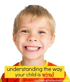 Understanding the way your child's personality