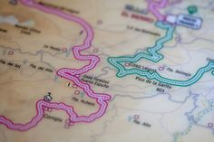 Mapa. Espubike. Sierra Espuna