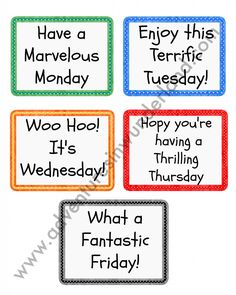 Lunch Box Notes {3 FREE Printables}