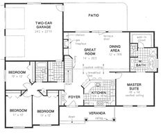 House Plan #134254 and Many Other Home Plans, Blueprints by Westhome Planners