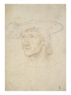 Portrait d'homme par Jean Clouet