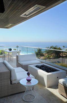 Beautiful Condo Balcony Furniture