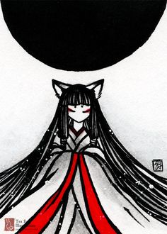Explore the Devious Collection 34 collection - the favourite images chosen by laurenyz on DeviantArt. Japanese Artwork, Art Asiatique, Fox Illustration, Fox Art, Japanese Culture, Kawaii, Chinese Art, Anime Art, Character Design