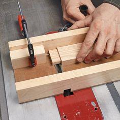 Tenon-Cutting Sled | Woodsmith Tips
