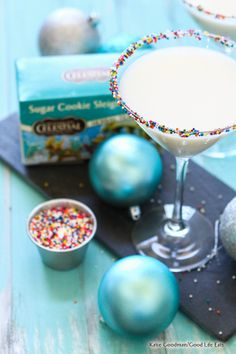 Sugar Cookie Sleigh Ride martini for your holiday get together! #HolidayTea http://www.celestialseasonings.com/holiday-recipes-coupon/  @Influenster and @CelestialTea, #CelestialTea & #Contest