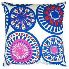 fantastically finnish marimekko fabric cushion