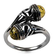 Amber by Graciana Damen Ring Keltisch 925 Sterlingsilber Bernsteine Grün 40858 Amber by Graciana http://www.amazon.de/dp/B008YSVUHC/ref=cm_sw_r_pi_dp_HYTovb09EHPDH