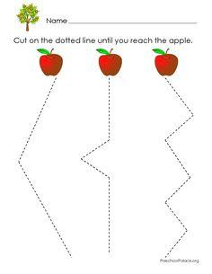 scissor skills printable - Recherche Google