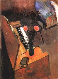 Matisse Interior with Harmonium 1900