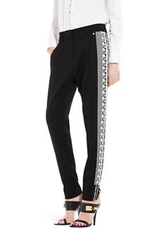 Versace - SIDE BAND PRINT TROUSER 650