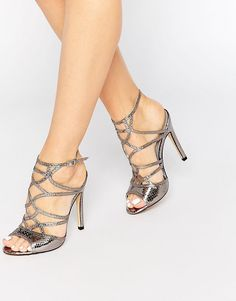 Truffle Collection Helen Cut Out Heeled Sandals