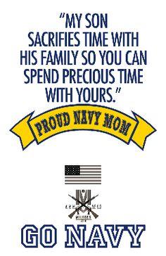 proud mom of a us navy chief | Proud Navy Mom - My Son Sacrifices T Shirts: US Military - Navy tee ...