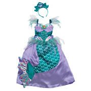 Ariel Dress Up Age 3/5  Feel like a true princess with this Disney Ariel dress. This outfit comes complete with a headband. Suitable for ages 3-5 years.  http://www.comparestoreprices.co.uk/childrens-dressing-up-clothes/ariel-dress-up-age-3-5.asp