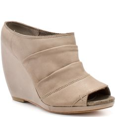 Joe�s Jeans - Finley Wedge - Taupe Leather