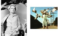 Alfred Hitchcock Still From The Birds  - Alex Prager Eve THIS