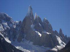 Fitz Roy, huge granit, great climbing deep down  in the southern Patagonia, Argentina.
