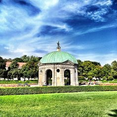 Hofgarten in München, Bayern