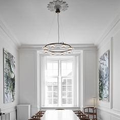 The Nuura Blossi 8 Chandelier is Inspired by the golden light during the Nordic fall, Blossi is designed to give a soft and delicate light. Interior Styling, Interior Decorating, Interior Design, Hospitality Design, Commercial Design, Chandelier Lighting, Glass Shades, Clear Glass, Home Office