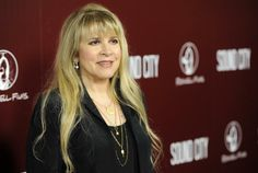 "FILE - This Jan. 31, 2013 file photo shows singer Stevie Nicks at the premiere of the documentary film ""Sound City"" in Los Angeles. The sing..."