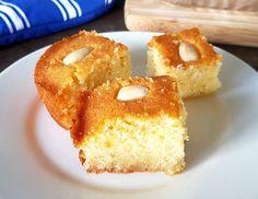 How to make Halva (Greek Semolina Cake) How To Make Halva, Semolina Cake, Doughnut, Greek, Dishes, Desserts, Recipes, Food, Tailgate Desserts